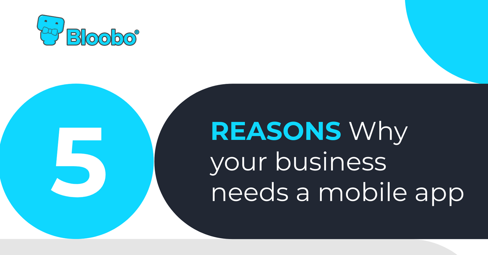5 Reasons for Mobile App for Business